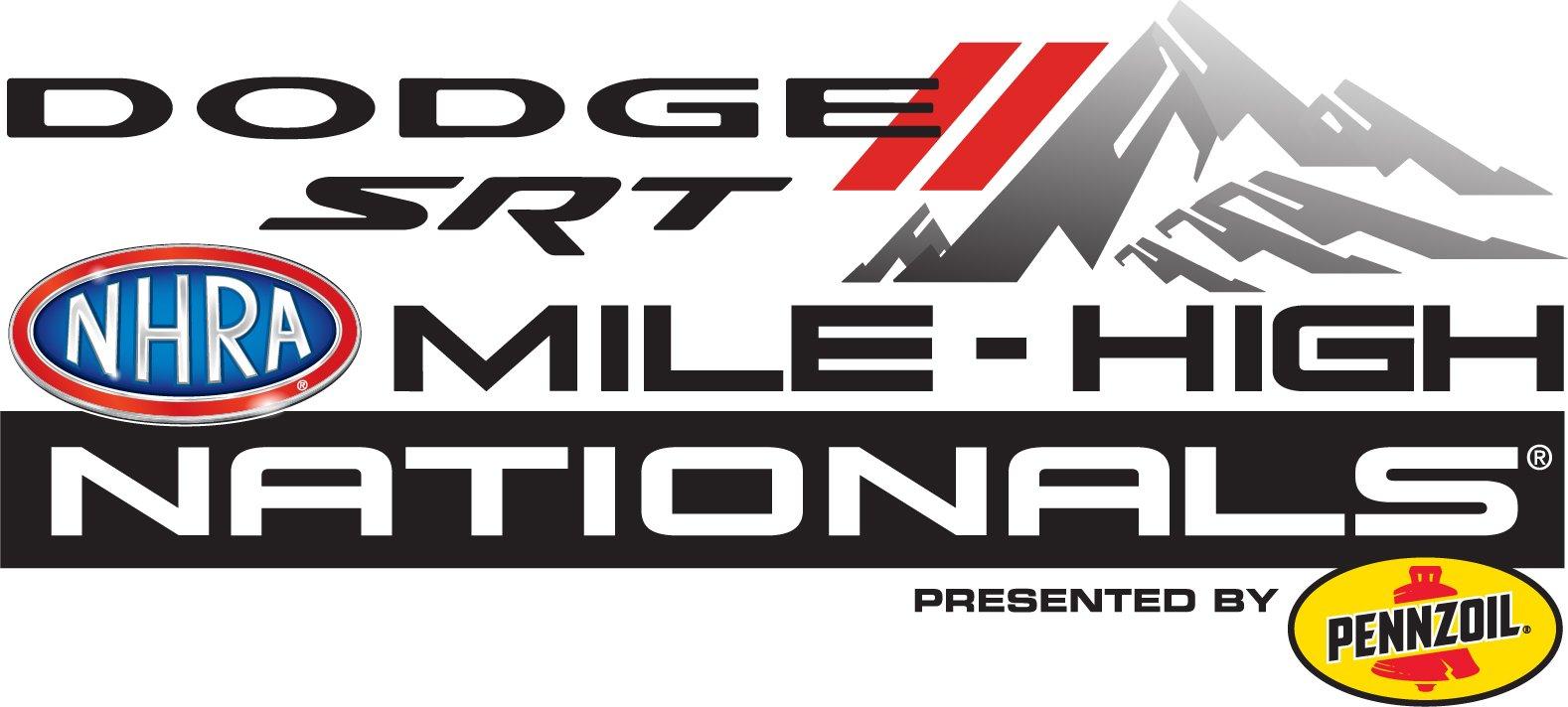 Dodge // SRT Mile High NHRA Nationals, Logo
